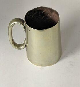 Antique Brass British Tankard One Pint