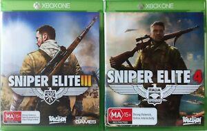 Sniper Elite 3 and Sniper Elite 4 Game Bundle Xbox One