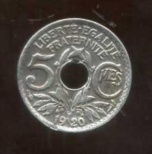 5 centimes  LINDAUER 1920 ( petit module ) ( 1 )