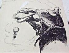 JOSE CLEMEN ORIGINAL ART DRAWING JULIO VERNE ILLUSTRATION ARGENTINA THE PHANTOM