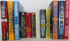 LEE CHILD book set of 12 FIRST/LATER EDITION