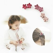30 PCS Multicolor Kids Baby Hair Clips Clamp Mini Claw Girls Hairpins Flower