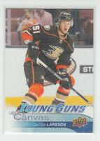 (74950) 2016-17 UPPER DECK SER. 2 CANVAS YOUNG GUNS JACOB LARSSON #C220
