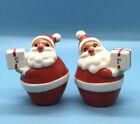Vintage Holt Howard Japan Christmas Santa Claus Salt and Pepper Shakers
