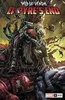 WEB OF VENOM EMPYRES END #1 NM KAEL NGU VARIANT NM SPIDER-MAN CARNAGE KNULL THOR