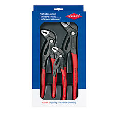 Knipex 00 20 09 V02 Cobra Water Pump Pliers Set 87 01 180 -250 -300 (002009V02)