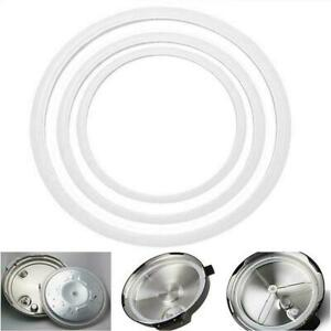 Replacement Silicone Rubber Clear Gasket Sealing Ring Cooker Home O T K7S1