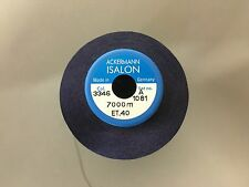 1 x 5000m Cop ISALON Polyester Embroidery Machine Thread Colour 3346 Navy Blue