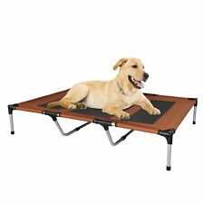 New listing Elevated Xxl Dog Pet Bed Cot Cooling Mesh Metal Camping Sleeper Raised Strong