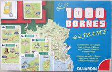 Jeu de 1000 Mille Bornes de la France Dujardin Année 1999