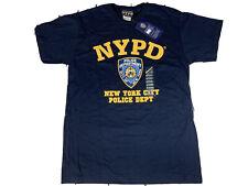 Brand New Men's NYPD New York City Police Dept. Licensed Short Sleeve T-shirt M