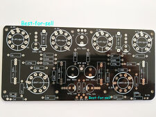6N4 / 12AX7 + EL84 / 6P14 Push-pull Tube Power Amplifier 10W+10W Stereo Amp PCB