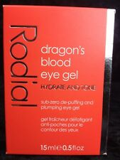 New Rodial Dragon's Blood Eye Gel 15 ml Hydrate and Tone Cooling Refreshing Nice