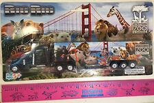 SAN FRANCISCO ZOO BIG RIG TOY TRACTOR TRAILER FEATURING S.F. ZOO LOGO NEW IN BOX