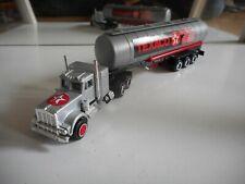 "Majorette US Truck + Trailer ""Texaco"" in Grey"