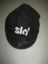 CHRIS FROOME HAND SIGNED TEAM SKY CAP UNFRAMED + PHOTO PROOF + C.O.A