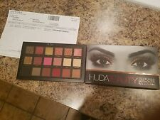 HudaBeauty rose gold shadow pallette, NIB with receipt, AUTHENTIC