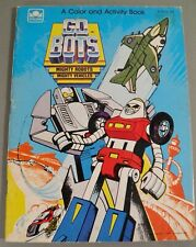 Unused Gobots Coloring Book Golden Tonka (1985)