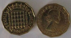 1953-1967 | Elizabeth II Three Pence | Choose Your Year | Free Post + Discounts