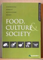 Food, culture society -  volume 15: issue:3 september 2012