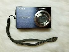 Nikon Coolpix S610 10MP Digital Camera with 4x Optical Zoom (For Parts)