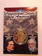 CIVIL WAR CSA CONFEDERATE STATES ORDER AND DATES OF SECESSION  COIN 27159