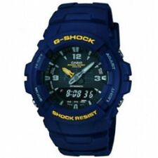 Casio G-shock Mens Chronograph Dual Time Alarm Watch G-100-2BVMUR