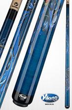Viking Blue Dragon Pool Cue w/ VIKORE Shaft & FREE Shipping