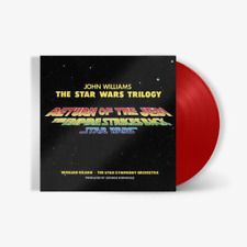 John Williams - Star Wars Original Trilogy Score RARE Lightsaber Red Vinyl LP VG