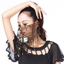 High Quality Women Belly Dancing Face Veil Bellydance Accessories Scarf