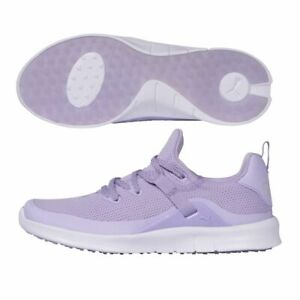 Puma Womens Laguna Fusion Sport Spikeless Golf Shoes - Lavender - New 2021