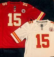 NWT Patrick Mahomes #15 Kansas City Chiefs Men's Vapor Style Jersey Red/WHITE