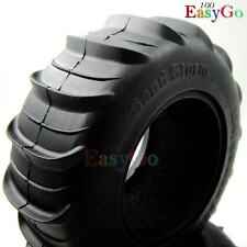 2pcs RC 1/10 Crawler 2.2 Paddle Sand Storm Tires Soft 114mm fit 2.2in wheel rims