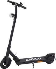 EM2GO E-Scooter FW103ST Roller mit Straßenzulassung mobil schwarz 5.0Ah Akku
