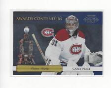 2010-11 Playoff Contenders Awards Contenders #2 Carey Price Canadiens