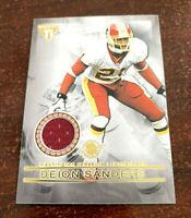 "2001 Titanium Deion Sanders Champ Bailey Dual Jersey Relic #125 Redskins ""SWEET"""