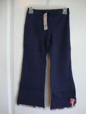 GYMBOREE NEW YORK GIRL Navy Blue Pants with Plaid Trim Girl Size 5 NWT - Fall