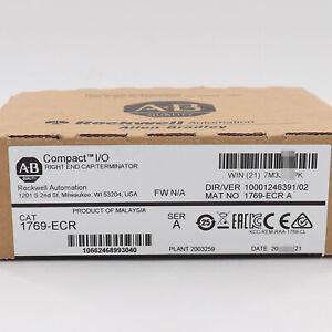 Allen-Bradley 1769-ECR Compact I/O Right End Cap Serie A 1769ECR Factory Sealed