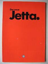 ERSTER Prospekt VW Jetta 2 C CL GL Carat II ohne Kat Modelle 1984 deutsch