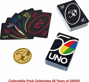 New Toy UNO 50th Anniversary Premium Edition card game for Gift from Japan