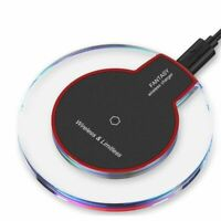 High Speed Qi Wireless Charger Charging Pad For Samsung iPhone Xs Xr S8 S9 S10