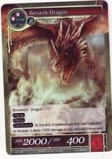 FOW TCG Berserk Dragon 1-070 SR Valhalla Force of Will ENG