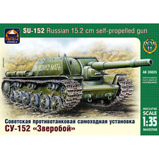 SU-152 Soviet Tank Model Kit 1/35 Scale - Russian Tank SU 152 (KV-14, SU-14)