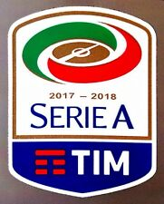2017-18 SERIE A TIM LEGA CALCIO UFFICIALE STILSCREEN FOOTBALL JUVENTUS PATCH BADGE