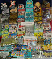 HUGE WHOLESALE LOT OF 1000 UNOPENED OLD VINTAGE HOCKEY CARDS IN WAX PACKS
