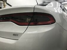 2015-2017 DODGE DART TAIL LIGHT PRECUT TINT COVER SMOKED OVERLAYS
