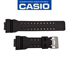 CASIO G-SHOCK GA-100CB GA-100CB GA-100LY Watch Band Strap Black Rubber