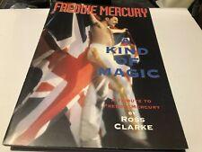 Queen Freddie Mercury A Kind Of Magic Ross Clarke Beautiful Book