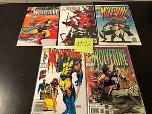 Marvel Comics Wolverine Comic Book Lot LOOK!