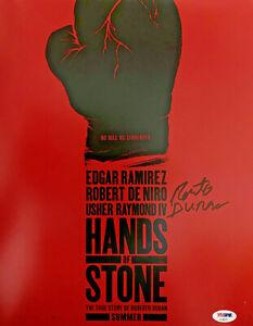 Roberto Duran Signed 11x14 Hands of Stone Photo - PSA DNA COA